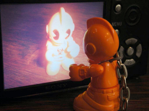 KidRobot - Orange SuperMini