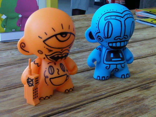 Munny - Two Customs by Kronk